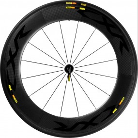Front wheel 28 Mavic CXR 80 F Tubular
