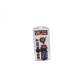 Bicycle bottle Dennis cage bell & sticker