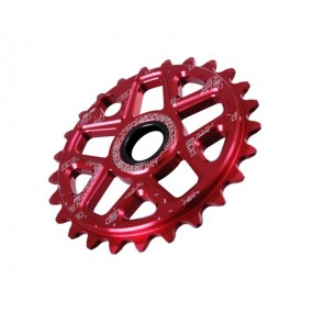 Chainring BMX DMR Spin 25T red