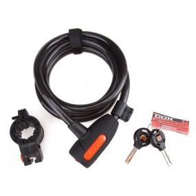 Bicycle locks Spiral COX 12mm key
