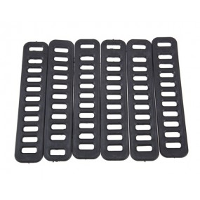 Peruzzo rubber straps for single buckle