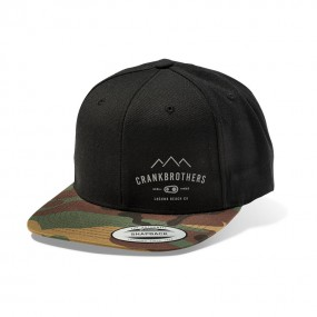 Crank Brothers Range Snap Back Hat