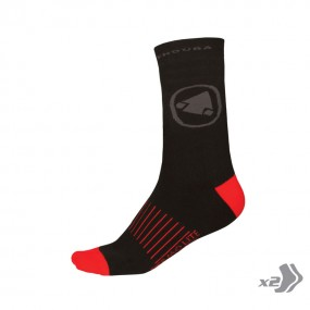 Endura Thermolite® II Socks (Twin Pack)