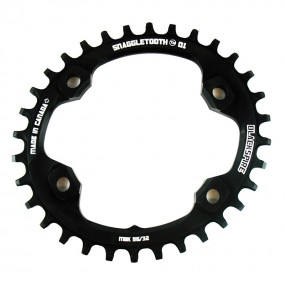 Blackspire Snaggletooth Oval N/W Chainring for Shimano XT M8000 Cranks