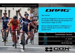 DRAG ще участва на Еurobike 2018