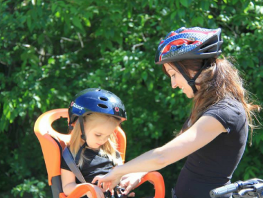 Как да изберем детско столче за велосипед