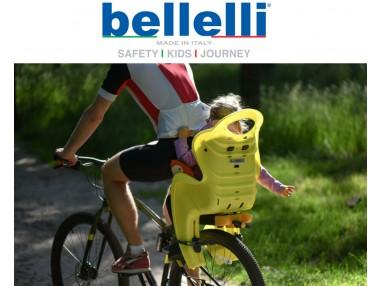 Bellelli - детско столче за велосипед