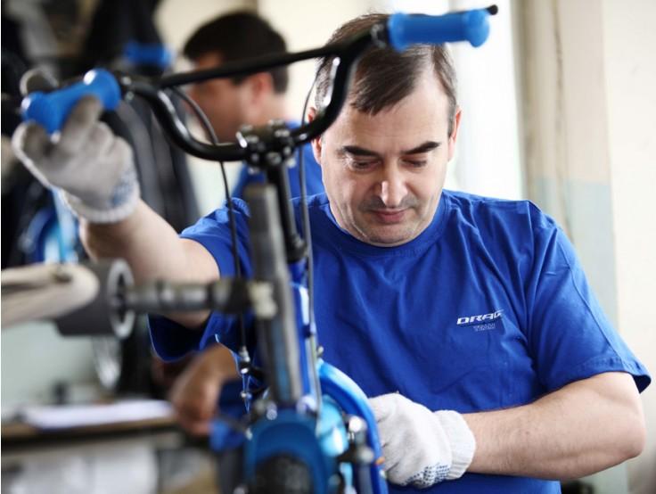 Монтажник на велосипеди