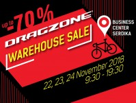 Big Drag Zone Warehouse SALE on November 22nd, 23rd, 24th