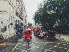 Как да карате велосипед в дъжда?