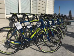 DRAG BlueBird ER bicycles with custom design for the KLAIPĖDA CYCLING TEAM were born in the Sofia factory.