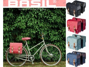 Basil Boheme Double Bag Bike Panniers