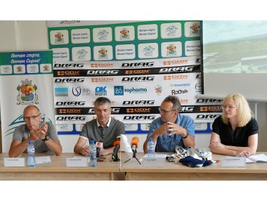 Cycling legend Olaf Ludwig was guest of honour at the press conference announcing our two road cycling events